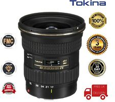 Tokina 17-35mm F4 SD AT-X PRO FX (Canon-Fit) TOK130 (UK Stock)