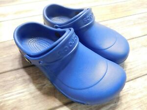 Women's Crocs Slip On Size 9 Blue