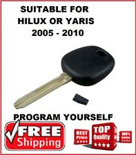 4D Car Key Blank Suitable for Toyota Hilux Hiace 2005 2006 2007 2008 2009 2010