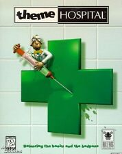 THEME HOSPITAL PC CD +1Clk Windows 10 8 7 Vista XP Install