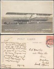 GB 1915 - Postcard to South Africa - Aviation V8/2