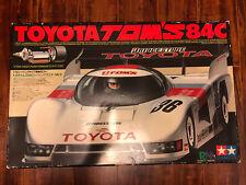 Vintage 1985 Tamiya Toyota Tom's 84C 1/12 R/C #5849 NIB