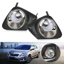 4x Sale Bumper Fog Light Grill Cover+ Lamp fit for Toyota Corolla 2011 2012 2013