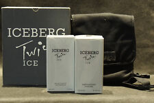 ICEBERG TWICE ICE EDT 50ML 1.7 FL.OZ. SPRAY + BATH FOAM 150ML 5.1 FL.OZ+BELT BAG