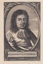 Ten Hoorn, Aernout van Overbeke, acquaforte 1678
