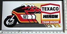 Texaco Heron Team Suzuki 1979 sticker    3