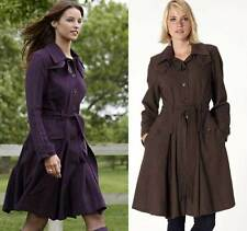 Women's No Pattern Cotton Trench Coats, Macs Coats & Jackets