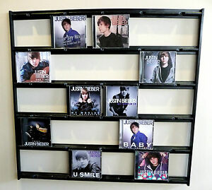 CD Mural Wall Display for Beatles, Bieber, RUSH, Peart, Drake