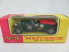 Matchbox Lesney Yesteryear Y5 Bentley