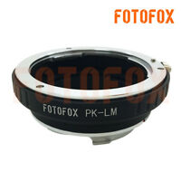 PK-LM adapter Pentax K mount lens to Leica M LM Camera M240 M10 Techart LM EA7