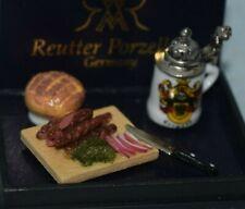 German Snack Set, Reutter-Dollhouse Miniature