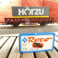 "Roco 46032 H0 Low-Sided Exchange Bridge "" Hörzu "" DB Epoch 4 Very Good"