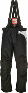 Arctiva Women's 2020 LAT48 Insulated Waterproof Bibs/Pants (Black/White) XL