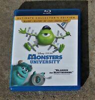 MONSTERS UNIVERSITY ULTIMATE EDITION BLURAY BLURAY 3D DVD DIGITAL COPY LIKE NEW
