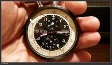 HEUER Leonidas Pocket Watch 1/5 Split Second Chronograph Rally Racing Timer