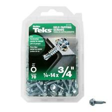 NEW!!  TEKS #14 x 3/4 in. External Flange Hex-Washer Head Self-Drilling Screw 70