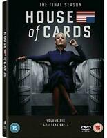 House of Cards: Season 6 (DVD, 2019)