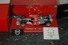 FERRARI F1 2003 Marlboro Schumacher 6x world champion chrome SEE INFO 1/18