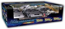 Welly 1 24 Wl224003 BTTF Back to The Future Delorean Car 1 2 3 Trilogy Set
