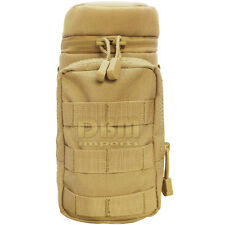 TAN Molle Hydration Pouch Water Bottle Carrier Storage Holder Utility Bag