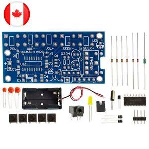 FM Radio 76-108Mhz DIY Learning Soldering Kit Practice HEX3653 Learn Solder