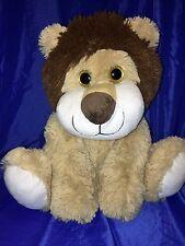 "Inter American Lion 15"" Plush Toy Stuffed Animal Big golden glittery Eyes 2014"