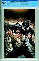 Symbiote Spider-Man: Alien Reality #5 Comics Elite Virgin Exclusive - CBCS 9.8!