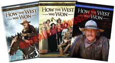 How The West Was Won Western TV Serie Complete All Season 1-3 DVD Set Collection