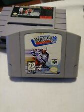 Wayne Gretzky 3D Hockey 98 Nintendo 64 N64 Authentic