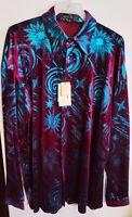 Men's New Creme De Silk Premium Fashion 100% Silk Soft Shirt (WHAM)