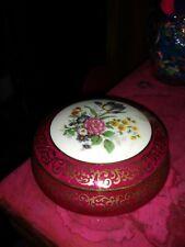 Limoges France hand painted trinket box