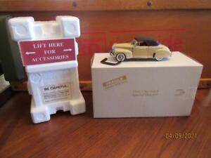 MIB~Danbury Mint~1941 CHEVROLET SPECIAL DELUXE~Convertible~Coupe~No Paperwork