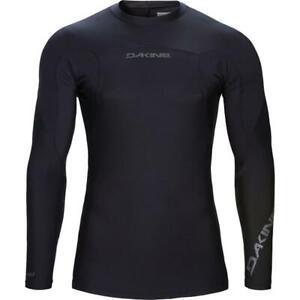 Dakine Men's Covert Snug-fit Long Sleeve Rash guard Black MEDIUM M
