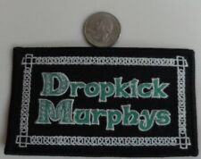 Dropkick Murphys Embroidered Iron On Patch (Irish, Celtic Punk Band, Music) New