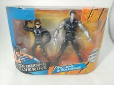 Marvel x-men origins Wolverine Cyclops & Colossus 2-Pack Hasbro 2009 NEW