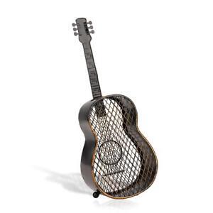TOOARTS  Bottle Cork Collector Guitar Mesh Art Iron Metal Sculpture New T0W2