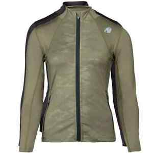Gorilla Wear Savannah Jacket Bodybuilding Fitness Tracksuit Jacket