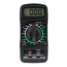 Digital LCD Multimeter Voltmeter Ammeter Ohmmeter Tester Overload Protection