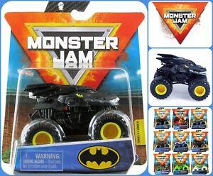 Spin Master Monster Jam Authentic Monster Truck BATMAN 1:64 Heroes & Villains