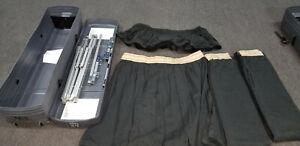 DRAPER CINEFOLD 9'x12' COMPLETE DRESS KIT WITH CASE