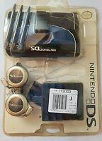 Vintage Nintendo DS Lite Starter Kit - Carrying Case, Headphones,2008