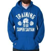 Training Super Funny Gym Workout Gift Goku Hooded Sweatshirts Hoodies For Men
