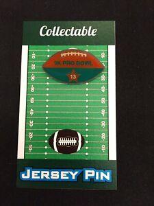 Miami Dolphins Dan Marino football lapel pin-Classic Collectible-HOF 2005