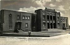 1940s Real Photo PC Centro Escolar Revolucion Cd. Juarez, Chih. Mexico MF Unused