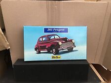 Heller Peugeot 203 Model Kit Scale 1/43, Nuevo