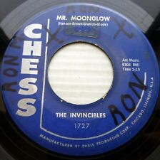 INVINCIBLES white doowop CHESS 45 MR MOONGLOW / SWAYBACK (mostly bongos!) PJ250