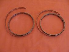NEW OLD STOCK GRACO STAINLESS STEEL CLAMP TIRE BANDING C31002 PIECES 2