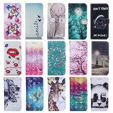 FLIP WALLET PU LEATHER MAGNETIC CASE STAND COVER FOR APPLE IPHONE 8 7 5S 6 SE