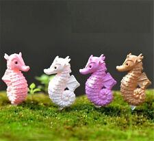 New listing Miniature Dollhouse Garden Craft Fairy Bonsai Decor ~A hippocampus~ 1Pc ☆