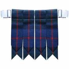 Fleur Écosse Écossais Kilt Accesoire avec Lourd Boucle/Flashes de Chaussettes
